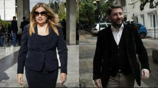 Εκλογές Κεντροαριστεράς: Ψήφισαν Γεννηματά και Ανδρουλάκης - τι είπαν στις δηλώσεις