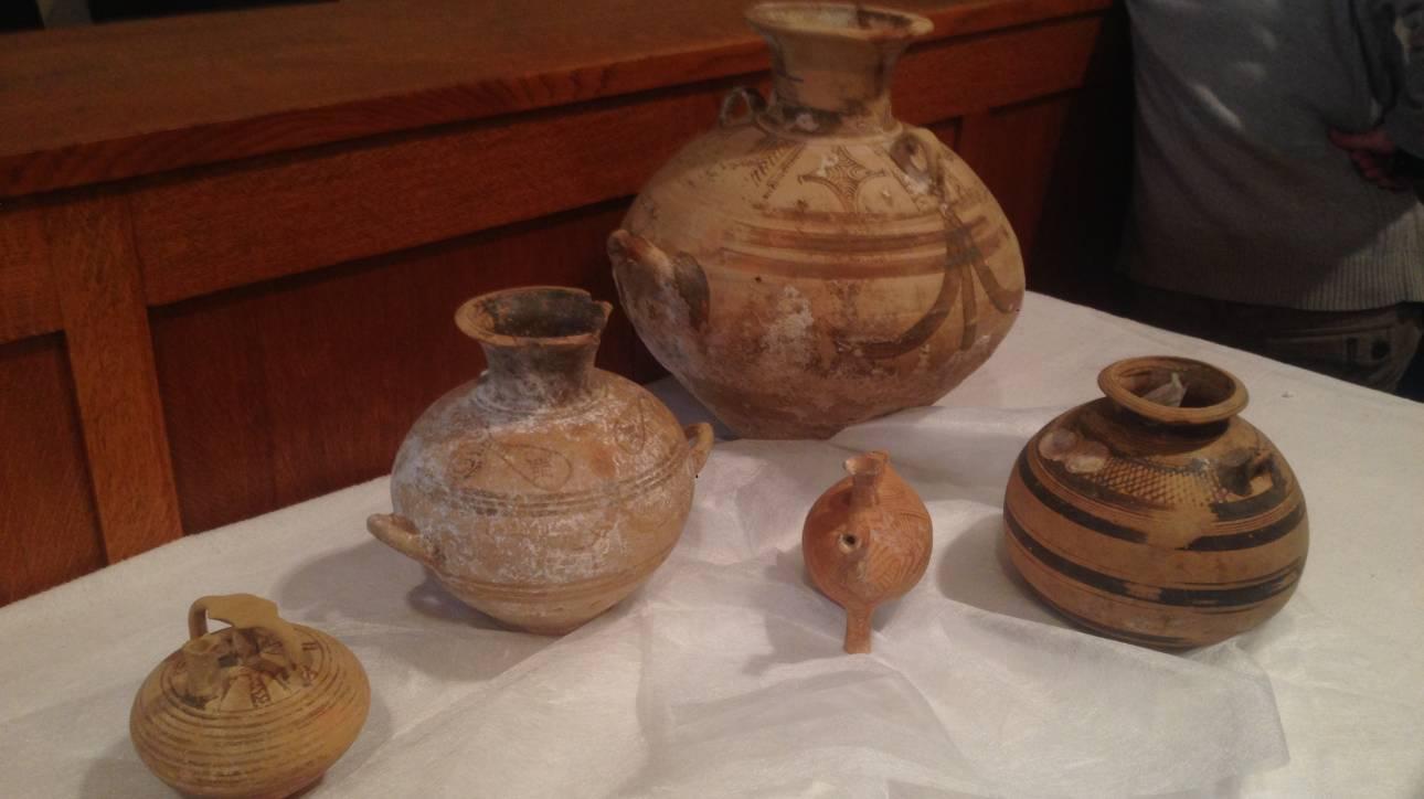 Αρχαία αντικείμενα επιστρέφουν στην Ελλάδα από την Αυστρία