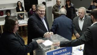 Εκλογές Κεντροαριστερά: Ηθική υποχρέωση η ενότητα μετά τις εκλογές, είπε ο Βενιζέλος