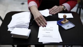 Εκλογές Κεντροαριστερά: 160.000 πολίτες πήγαν στις κάλπες