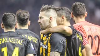 Super League: Ισόπαλο το ντέρμπυ Παναθηναϊκού-ΑΕΚ στις καθυστερήσεις