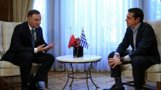 Συνάντηση Τσίπρα - Ντούντα: Συνεργασία στο θαλάσσιο και ναυπηγικό τομέα επιθυμεί η Πολωνία