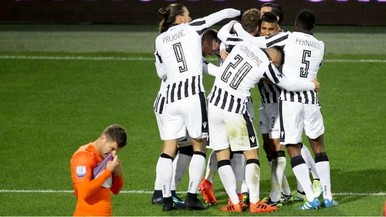 Super League: Ο ΠΑΟΚ έβαλε τέλος στο αήττητο του Ατρόμητου