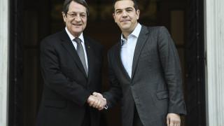 Τσίπρας: Ελλάδα και Κύπρος παράγοντας σταθερότητας σε όλη την νοτιοανατολική Μεσόγειο