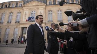Tαξίδι «αστραπή» για τον Τσίπρα στο Παρίσι