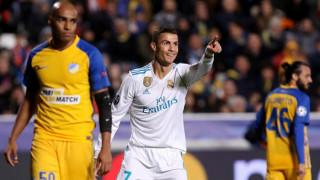 Champions League: Βαριά ήττα του ΑΠΟΕΛ από τη Ρεάλ Μ., ρεκόρ ο Κριστιάνο