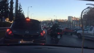 Καραμπόλα τριών οχημάτων στην Εθνική Αθηνών-Λαμίας (pics)