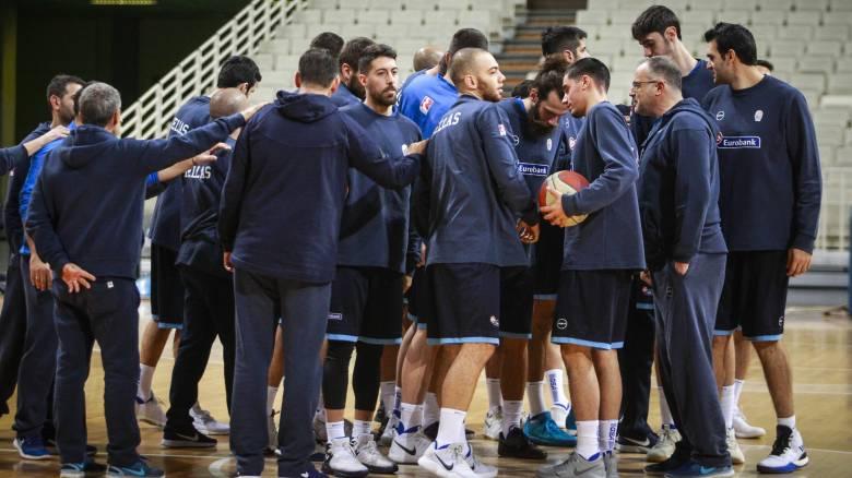Μουντομπάσκετ 2019: Με Μπουρούση και Βασιλόπουλο αρχηγούς η αποστολή της εθνικής