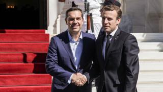 Συνάντηση Μακρόν - Τσίπρα στο Παρίσι την Παρασκευή