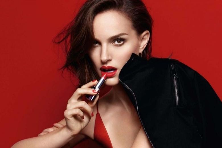Natalie Portman Dior Lipstick Campaign