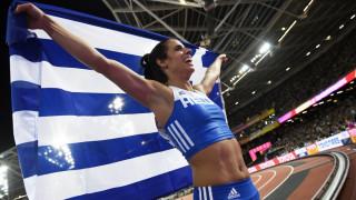 Κατερίνα Στεφανίδη: Διεκδικεί τον τίτλο της κορυφαίας αθλήτριας του κόσμου