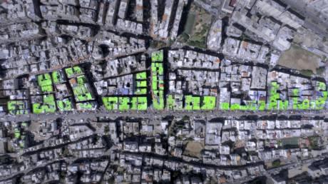 Μηνύματα ειρήνης στις ταράτσες του Λιβάνου