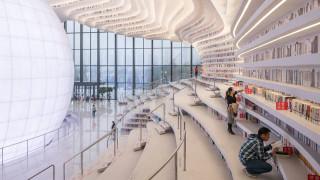 H viral βιβλιοθήκη της Κίνας δεν είναι αυτό που φαίνεται (pics&vid)