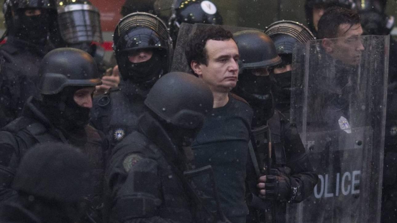 Κόσοβο: Συνελήφθη ο εθνικιστής βουλευτής Άλμπιν Κούρτι