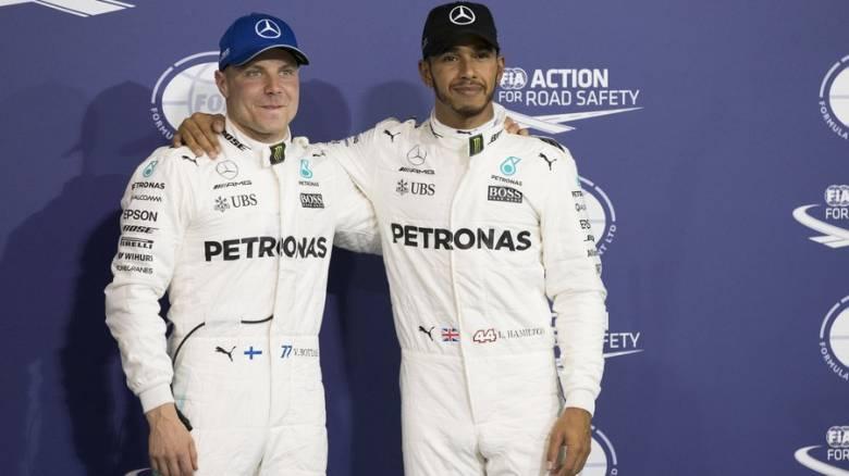F1: Pole position για τον Μπότας και στο Αμπού Ντάμπι (vid)