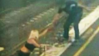 Για κλάσματα δευτερολέπτου σώθηκε από το τρένο