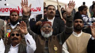Ξύλο μεταξύ ομάδας Πακιστανών και οπαδών του ΠΑΟΚ στην Ομόνοια (vid)