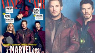 Vanity Fair: με 83 σούπερ ήρωες γιορτάζει μια δεκαετία της Marvel στην οθόνη