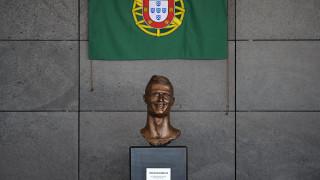 Αποκαλυπτήρια για το νέο άγαλμα του Κριστιάνο Ρονάλντο που …του μοιάζει στ'αλήθεια