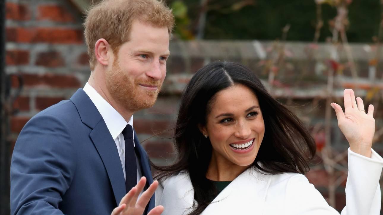 Τον Μάιο ο γάμος του πρίγκιπα Χάρι με τη Μέγκαν Μαρκλ