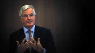 Μπαρνιέ: Δεν υπάρχει συμφωνία για τον λογαριασμό του Brexit