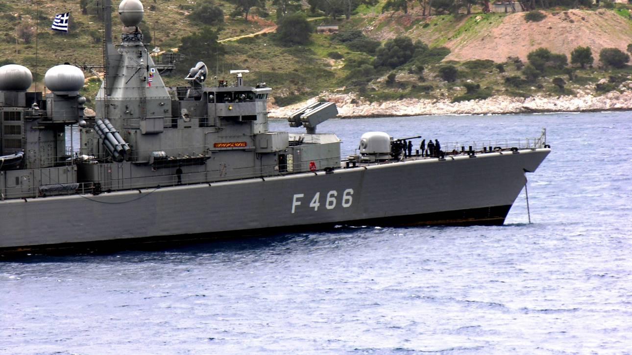 Νέα προσάραξη πλοίου του Πολεμικού Ναυτικού έξω από τον Πόρο