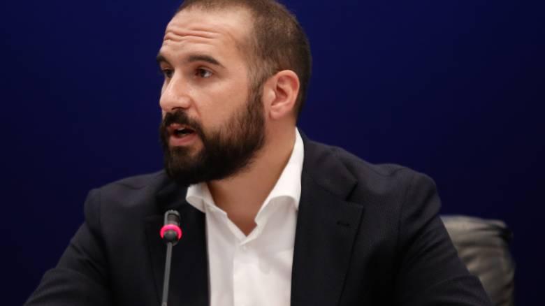 Τζανακόπουλος: «Ένδειξη αδυναμίας» η αποστολή εξωδίκου από την Μαρέβα Μητσοτάκη