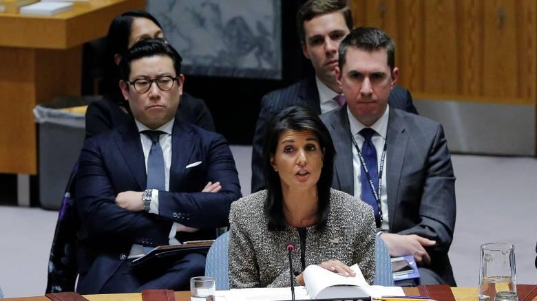 Η Ουάσινγκτον διαμηνύει ξανά στη βορειοκορεατική ηγεσία ότι θα «την καταστρέψει ολοσχερώς»
