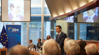 Αίθουσα «Κωνσταντίνος Μητσοτάκης» στο Ευρωπαϊκό Κοινοβούλιο (pics)
