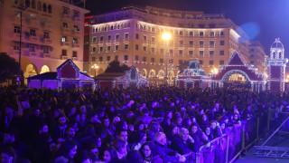 Η Θεσσαλονίκη «φόρεσε» τα γιορτινά της