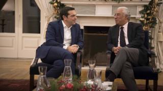 Τσίπρας σε Κόστα: Η Πορτογαλία έδειξε το δρόμο για την έξοδο από τα μνημόνια