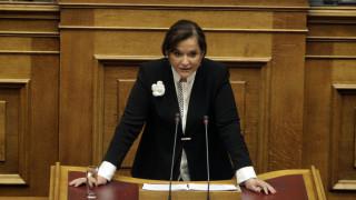 Μπακογιάννη: Ο Τσίπρας κάλυψε πλήρως τον Καμμένο, άρα είναι συνυπεύθυνος