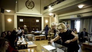 Ολοκληρώνονται αύριο οι εκλογές στο Δικηγορικό Σύλλογο Αθηνών (pics)