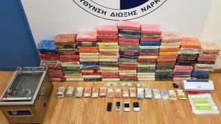 Πάνω από 136 κιλά κοκαΐνης κατασχέθηκαν στη Βάρκιζα