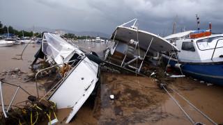 Νέα Πέραμος: Με εθνικούς πόρους η αποκατάσταση των ζημιών στο λιμάνι