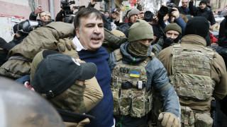 Κίεβο: Συνελήφθη ο πρώην Γεωργιανός πρόεδρος Σαασκαβίλι (pics&vids)