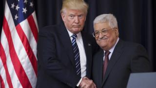 Ο Τραμπ ενημέρωσε τον Αμπάς ότι σκοπεύει να μεταφέρει την πρεσβεία των ΗΠΑ στην Ιερουσαλήμ
