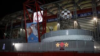 Champions League: Ένταση στο Καραϊσκάκης πριν το Ολυμπιακός-Γιουβέντους (vid)