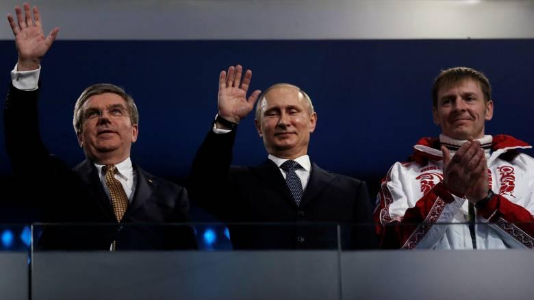 ΔΟΕ: Εκτός Χειμερινών Ολυμπιακών Αγώνων η Ρωσία για το σκάνδαλο ντόπινγκ