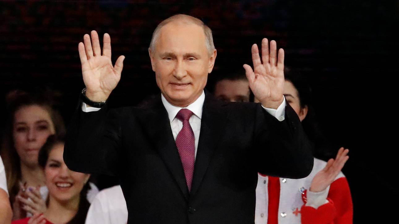 Ο Πούτιν υποψήφιος για τη ρωσική προεδρία στις εκλογές του 2018