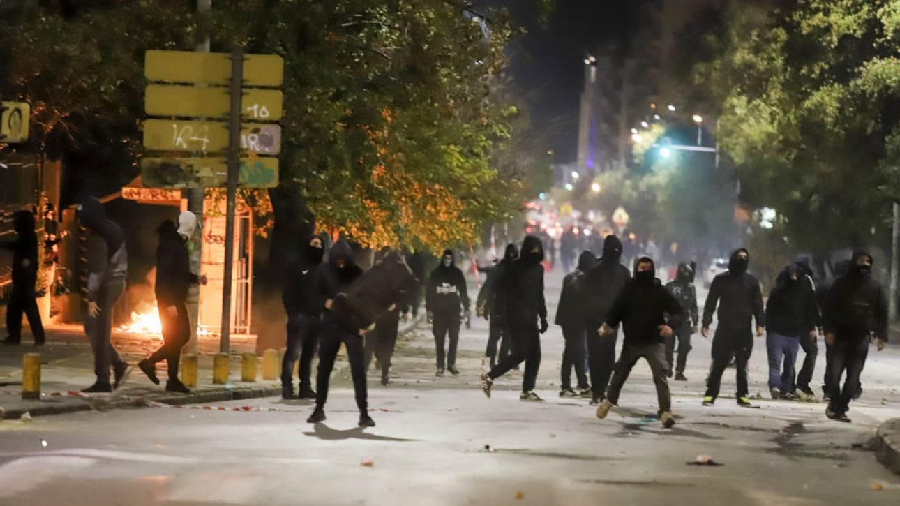 Θεσσαλονίκη: Τραυματίστηκε ένας αστυνομικός κατά τη διάρκεια των επεισοδίων
