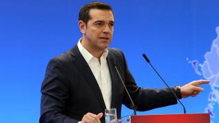 Τσίπρας: Η Ελλάδα μπήκε στην τελική ευθεία προς την απελευθέρωσή της από το ζυγό της επιτροπείας