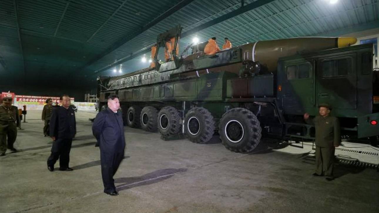 Η Βόρεια Κορέα θεωρεί τον πόλεμο με τις ΗΠΑ αναπόφευκτο