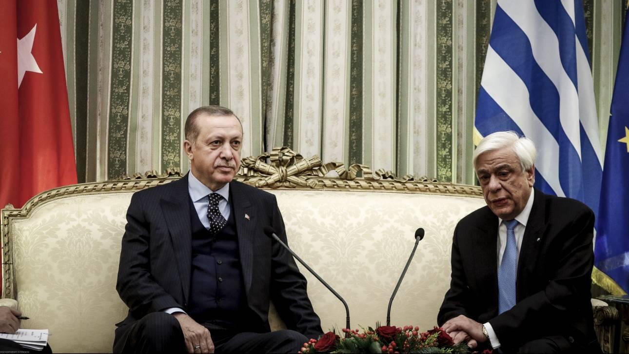 Παυλόπουλος σε Ερντογάν: Η Συνθήκη της Λωζάννης δεν χρειάζεται ούτε αναθεώρηση, ούτε επικαιροποίηση