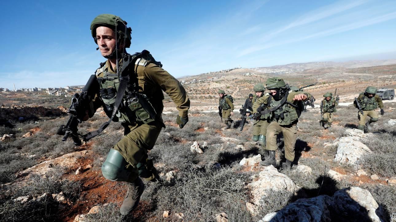 Ο ισραηλινός στρατός ενισχύει τις δυνάμεις του στη Δυτική Όχθη