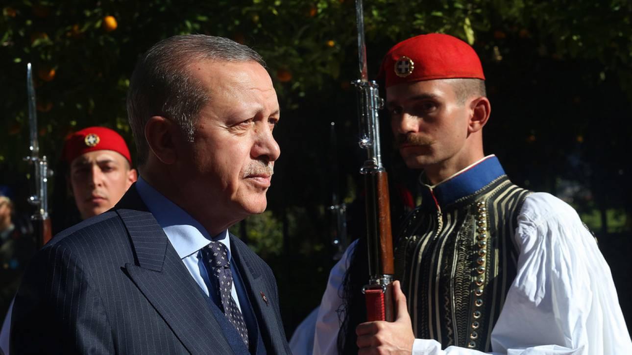 Ερντογάν: Στη Συνθήκη της Λωζάννης υπάρχουν εκκρεμότητες