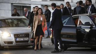 Η Μπέτυ Μπαζιάνα επισκέφτηκε την Εμινέ Ερντογάν στη «Μεγάλη Βρεταννία»