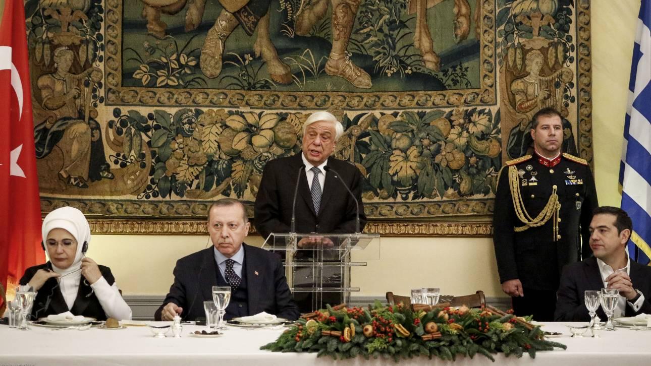 Παυλόπουλος: Αυτά που μας ενώνουν είναι πιο πολλά από αυτά που μας χωρίζουν