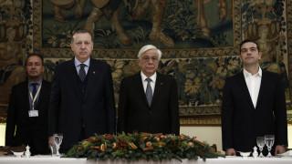 Η πρώτη μέρα της επίσκεψης Ερντογάν στην Ελλάδα