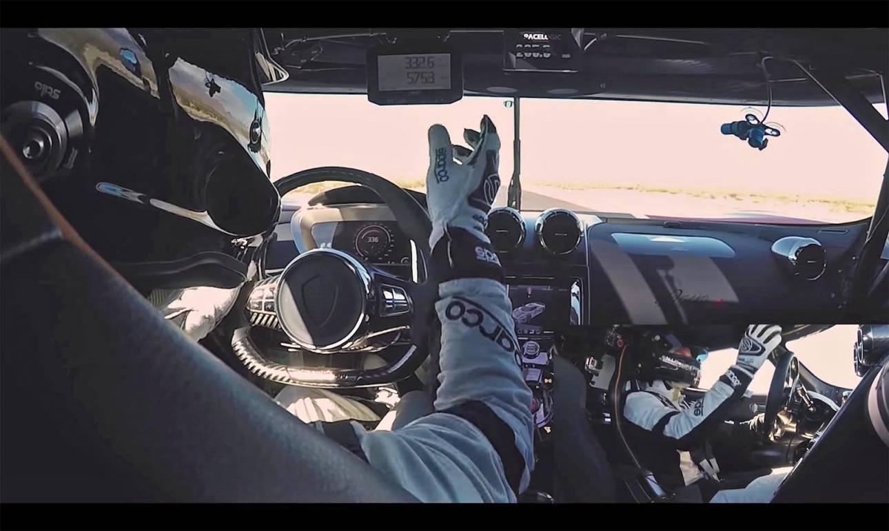 Αυτοκίνητο: Δείτε πώς είναι να οδηγεί κανείς με σχεδόν 460 χλμ./ ώρα;